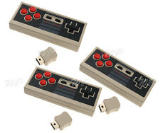 1/2 For Classic Nintendo NES Wireless Game Controller Handle Gamepad Replacement