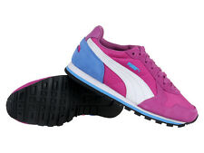 Puma ST Runner NL JR Pink Kids Girls Casual Everyday Shoes Sneakers