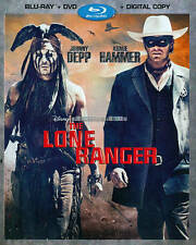The Lone Ranger Blu-ray/DVD, Brand New 2-Disc Set, Includes Digital Copy