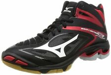 Mizuno Volleyball Shoes Wave Lightning Z3 MID V1GA1705 Black/White/Red Japan #N