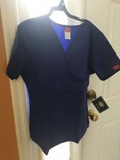 Scrubs Dickies EDS Empire Waist Top 815906 Galaxy SIZE SMALL FREE SHIPPING!
