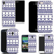 pictoral case cover for most Popular Mobile phones - traditional anchor
