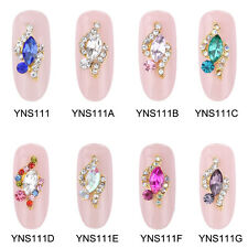10pcs Marquise Nail Stone Strass Rhinestones Nail Art 3D Decoration