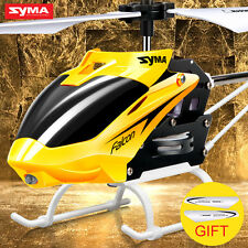 Mini RC Helicopter RC Drone With Gyro Crash Resistant Syma W25 2 CH 2 Channel