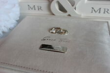 Personalised Wedding Guest Book with Personalised Pen or Personalised Parker Pen