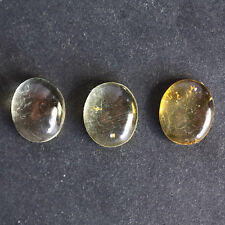 20X15MM Oval Shape, Baltic Amber Calibrated Cabochons AG-214