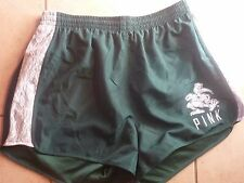 """VICTORIAS SECRET PINK COLLEGIATE FLORIDA """"MIAMI"""" LINED LACE RUNNING SHORTS NWT"""