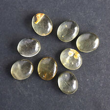 14X10MM Oval Shape, Baltic Amber Calibrated Cabochons AG-214