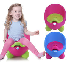 CHILDREN POTTY CHAIR EASY CLEAN KIDS TODDLER TRAINING TOILET SEAT GIRL BOY NR