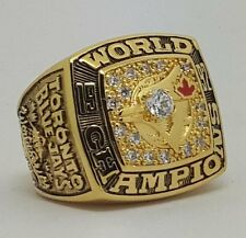 1992 Toronto Blue Jays World Series Championship Copper ring Size 8-14 Nice Gift