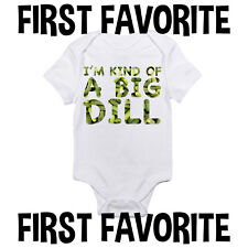 Big Dill Baby Onesie Bodysuit Shirt Shower Gift Funny Cute Infant Unisex Gerber