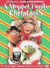 A MUPPET FAMILY CHRISTMAS (DVD, 2001) ***Rare, OOP!*** Authentic Region 1 Henson