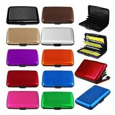 Mens Womens Waterproof Business Credit ID Business Card Holder Pocket Wallet