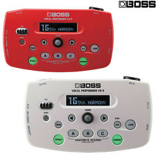 BOSS VE-5 Performer Vocal Looper Effects Processor Red White l Authorized Dealer