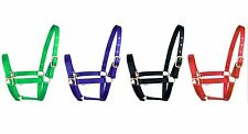 Full / Cob / Pony Nylon Horse Halter/Headcollar