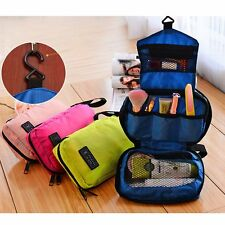 Travel Makeup Toiletry Purse Cosmetic Holder Beauty Wash Bag Organizer Hanging A