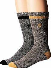Timberland Mens Rugged Heritage 2-Pack Crew Socks  Sock- Choose SZ/Color.