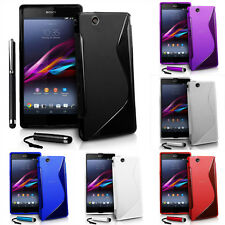 Protective Cover for Sony Xperia Z Ultra XL39h C6802/LTE Silicone Flip Case
