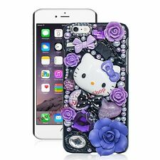 Hello Kitty 3D Bling Jewel Iphone 5C/6/6S Cover Case Hight-Quality
