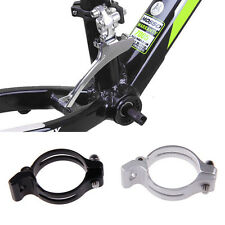 31.8/34.9mm Cycling Bike Front Derailleur Braze-on Adapter Clamp Lightweight