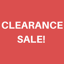 Special Clearance Sale - Limited Stock