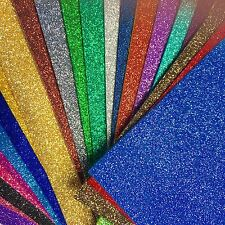 A4 Sheet Fine Glitter Fabric for bow making and craft