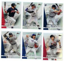 2017 Topps Finest Refractor Parallel Singles - Complete Your Set Choice List