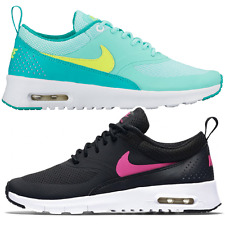 NEW Nike Air Max Thea GS Shoe Sneakers Women black turquoise 814444 001 300 SALE