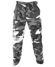 City Camo BDU Military Pants Propper Genuine Gear Zipper Fly 60/40 Ripstop
