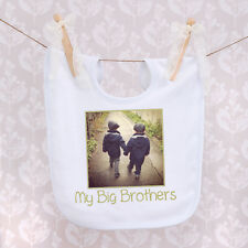Personalised Baby Bib - Photo and Name Any Design