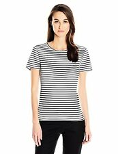 Calvin Klein Women's Short Sleeve Striped Knit Tee - Choose SZ/Color