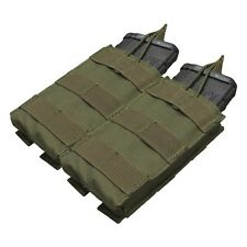 Condor MA19 Tactical Double Open Top 5.56 30rd MOLLE Mag Pouch w/ Bungee Ret
