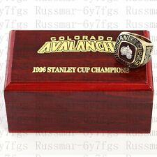 1996 Colorado Avalanche Stanley Cup Championship Copper Ring Size 10-13 Solid