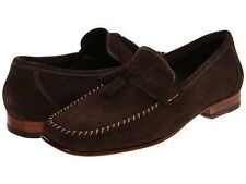 Bruno Magli Mens Emolio Dark Brown Slip-On Business Casual Loafer Dress Shoes