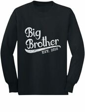 Gift for Big Brother 2018 Toddler/Kids Long sleeve T-Shirt Boys