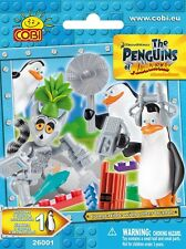 DREAMWORKS THE PENGUINS OF MADAGASCAR COBI MINI FIGURES COLLECT CAKE TOPPER