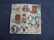MCDONALDS HAPPY MEAL TOYS:PENGUINS OF MADAGASCAR 2014:4 TO CHOOSE FROM MENU