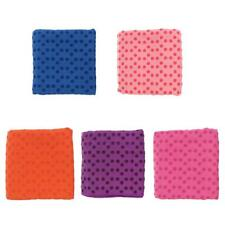 Yoga Pilates Mat Towel Grip Nonslip Skid Travel Microfibre Exercise with Bag