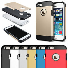 Apple iPhone 7 Plus Strong Slim Armor Shock Proof Hard Tough Hybrid Case Cover