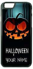 Halloween Pumpkin Phone Case Cover for Samsung iPhone Lg iPod Moto Htc NAME