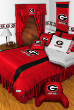 NCAA Georgia Bulldogs Sidelines 10 Piece Bed Bag