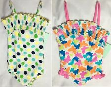 NEW Baby Girls Butterfly Polka Dot Swimming Costume Swimsuit Age 2-3 Years A16