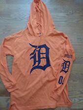 VICTORIAS SECRET PINK 2017 SOLD OUT MLB DETROIT TIGERS LIGHTWEIGHT HOODIE NWT