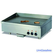 Griddle Grill Machine Warmer Electric Large Stainless Commercial Restaurant