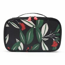 Cosmetic Case Bag Make Up Bag with Brush Compartment for Travel Makeup Organizer