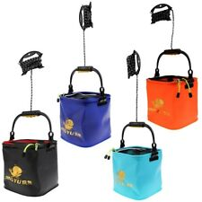 New EVA Fish Fishing Water Bucket Pail Outdoor Foldable Collapsible Bucket