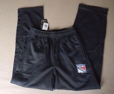 Mens Authentic NHL.COM SHOP New York Rangers Athletic Pants Gray S 2XL NWT
