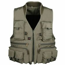 Vest Outdoor Hiking Hunting Multi Pocket Vest Waistcoat Men Fishing Jacket