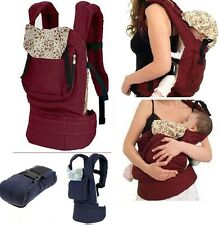 Cotton Baby Carrier Infant Newborn Comfort Backpack Buckle Sling Wrap Fashion