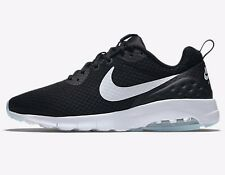 Nike AIR MAX MOTION LOW MEN'S SHOES Mesh Upper BLACK/WHITE- US 9, 10, 10.5 Or 12